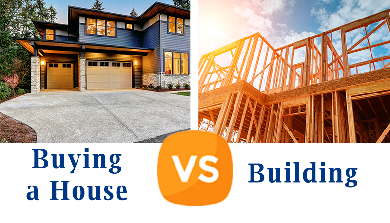 Building VS Buying a House Dilemma