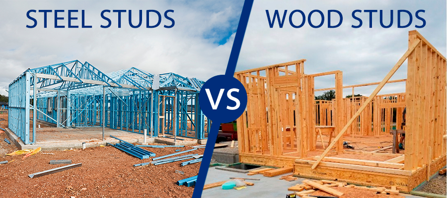 Steel Studs Vs. Wood Studs